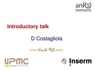 Introductory talk