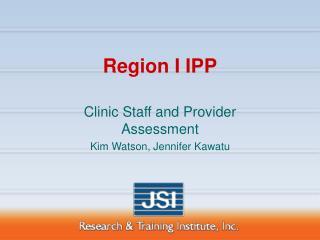 Region I IPP