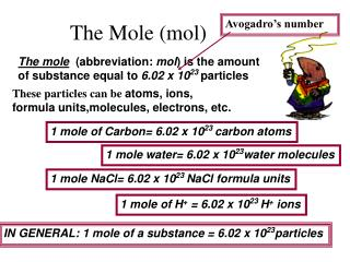 The Mole (mol)
