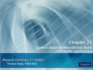 Physical Chemistry 2 nd  Edition