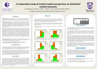 A comparative study of medical student perspectives on distributed medical education
