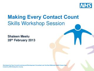 Making Every Contact Count Skills Workshop Session