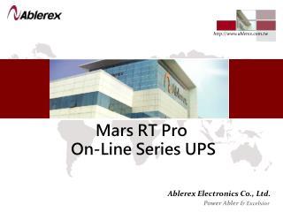 Mars RT Pro  On-Line Series UPS