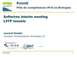 Point6 Pôle de compétences IPv6 en Bretagne