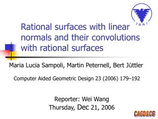 Rational surfaces with linear normals and their convolutions with rational surfaces