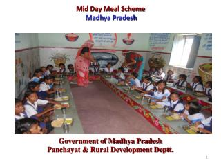 Mid Day Meal Scheme Madhya Pradesh