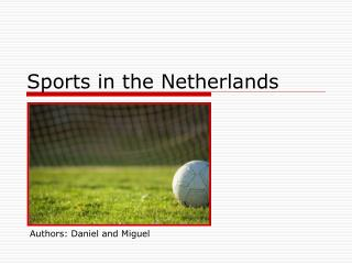 Sports in the Netherlands