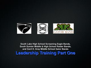 South Lake High School Screaming Eagle Bands, South Sumter Middle & High School Raider Bands,