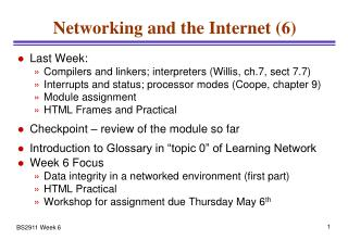 Networking and the Internet (6)