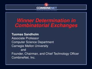 Winner Determination in Combinatorial Exchanges