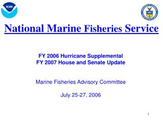 National Marine  Fisheries  Service