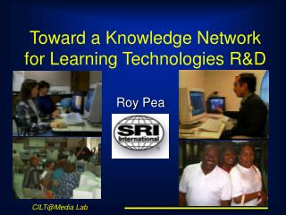 Toward a Knowledge Network for Learning Technologies R&D