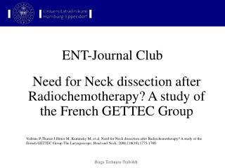 ENT-Journal Club