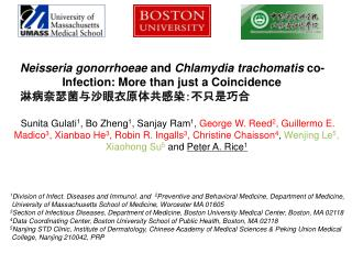 Neisseria gonorrhoeae  and  Chlamydia trachomatis  co-