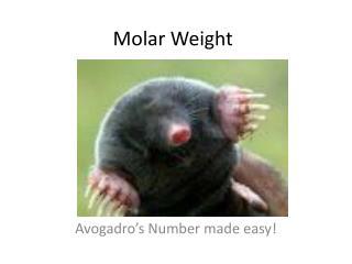Molar Weight