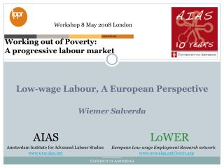 Low-wage Labour, A European Perspective Wiemer Salverda