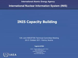 INIS Capacity Building