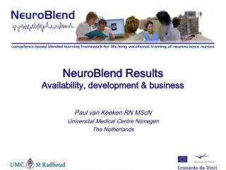 NeuroBlend Results Availability, development & business