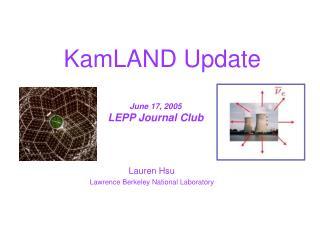 KamLAND Update