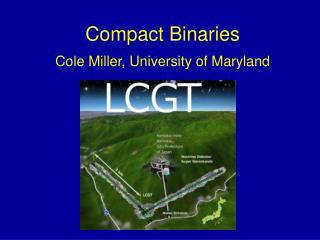 Compact Binaries