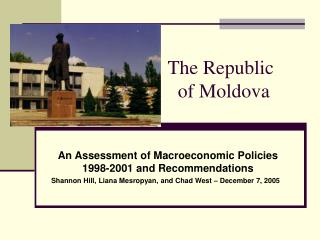 The Republic                       of Moldova