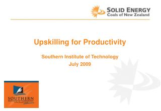Upskilling for Productivity Southern Institute of Technology July 2009