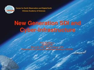 New Generation SDI and Cyber-Infrastructure
