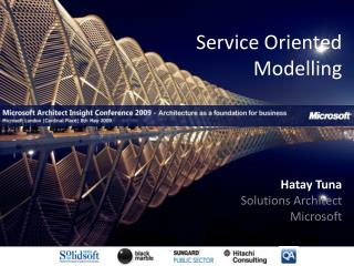 Service Oriented Modelling
