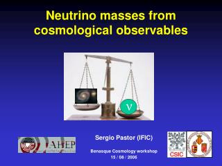 Neutrino masses from  cosmological observables