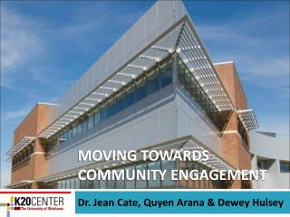 Moving towards community Engagement