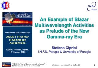 An Example of Blazar Multiwavelength Activities as Prelude of the New Gamma-ray Era