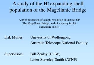 A study of the H I  expanding shell population of the Magellanic Bridge