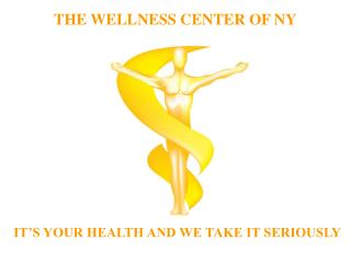 THE WELLNESS CENTER OF NY