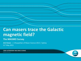 Can masers trace the Galactic magnetic field?