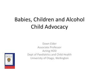 Babies, Children and Alcohol Child Advocacy