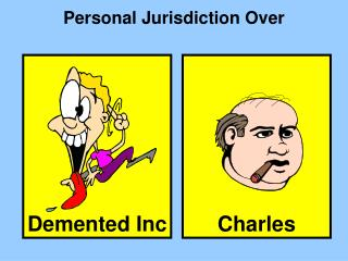 Personal Jurisdiction Over