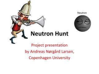 Neutron Hunt