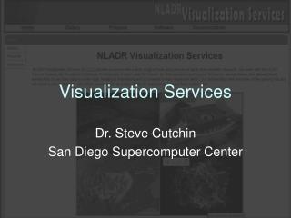 Visualization Services