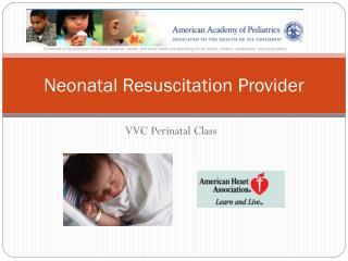 Neonatal Resuscitation Provider