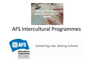 AFS Intercultural Programmes