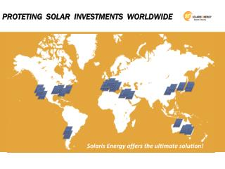 PROTETING  SOLAR  INVESTMENTS  WORLDWIDE