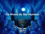 Os N veis do Ser Humano
