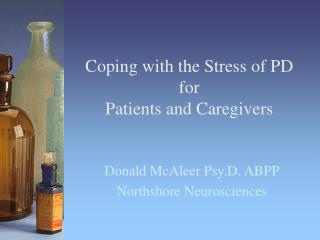 Coping with the Stress of PD for Patients and Caregivers
