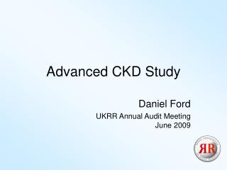 Advanced CKD Study
