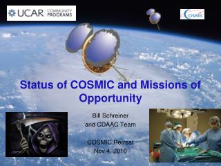 Status of COSMIC and Missions of Opportunity