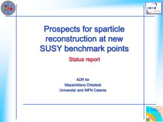 Prospects for sparticle reconstruction at new SUSY benchmark points Status report