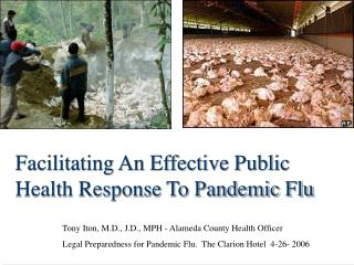 Facilitating An Effective Public Health Response To Pandemic Flu