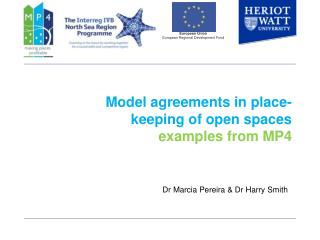 Model agreements in place-keeping of open spaces examples from MP4