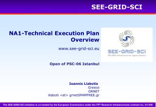 NA1-Technical Execution Plan Overview