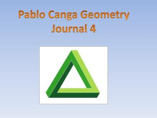 Pablo Canga  Geometry Journal  4